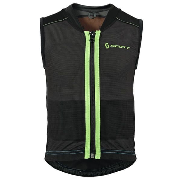 Scott Vest Protector Jr Soft Actifit black/green XXS