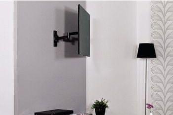 Hama 108727 TV fali konzol, 2kar, 200 x 200, Fekete