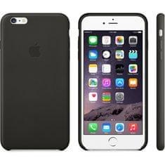 Apple Kožený kryt iPhone 6s, černý