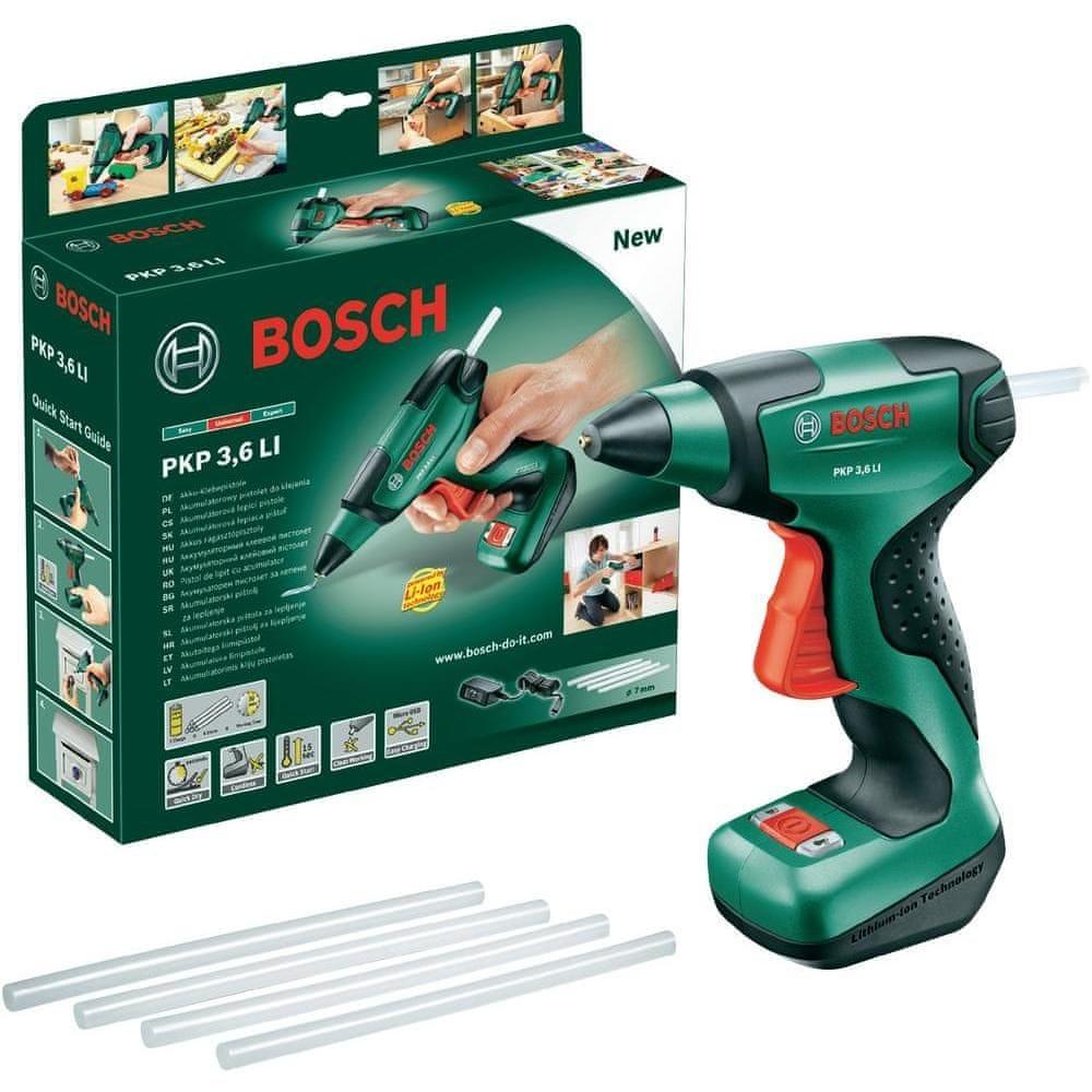 Bosch akumulátorová lepící pistole PKP 3,6 V 0603264620