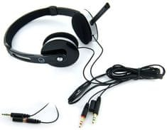 4World Headset, Fekete