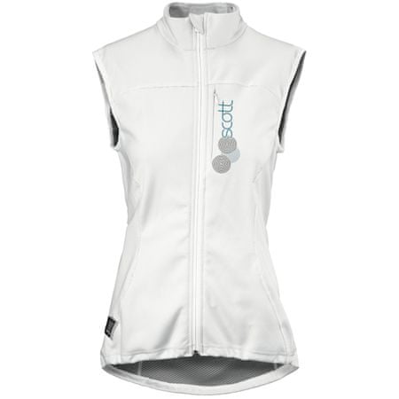 Scott Thermal Vest Protector W's Actifit white/blue L