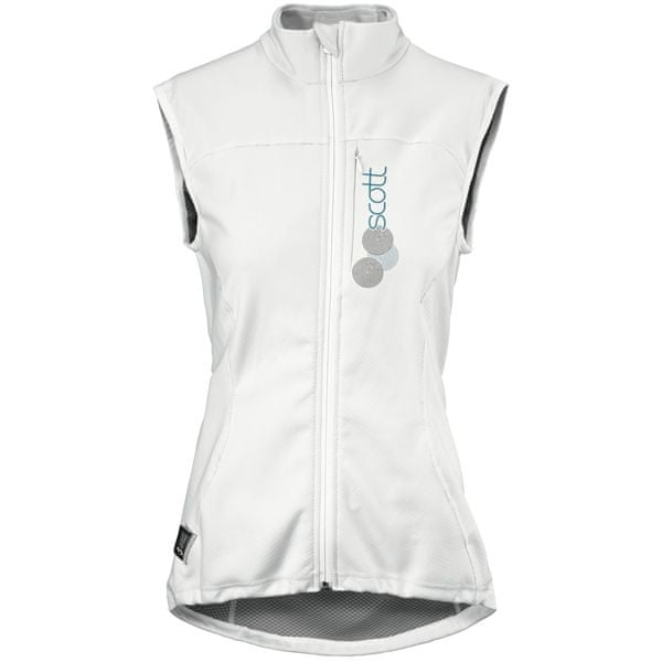 Scott Thermal Vest Protector W's Actifit white/blue XL