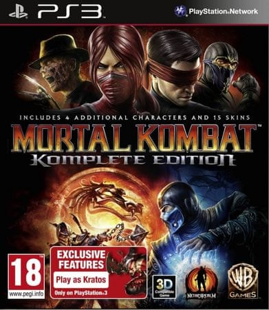 Warner Bros Mortal Combat 9 Complete Edition (PS3)