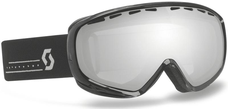 Scott Goggle Dana black/silver chrome