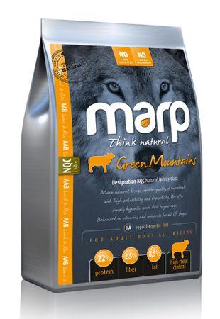 Marp Natural Green Mountains hrana za pse, jagnjetina, 12 kg