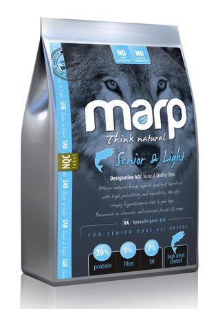 Marp Natural - Light hrana za starejše pse, riba, 2 kg