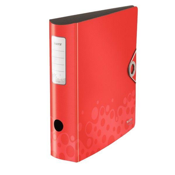 Pořadač Leitz 180° Active BEBOP 7,5 cm červený