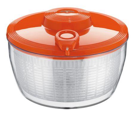 Küchenprofi posoda s sušilcem za solato, oranžna