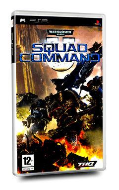 THQ WARHAMMER 40K SQUAD COMMAND ESS PSP