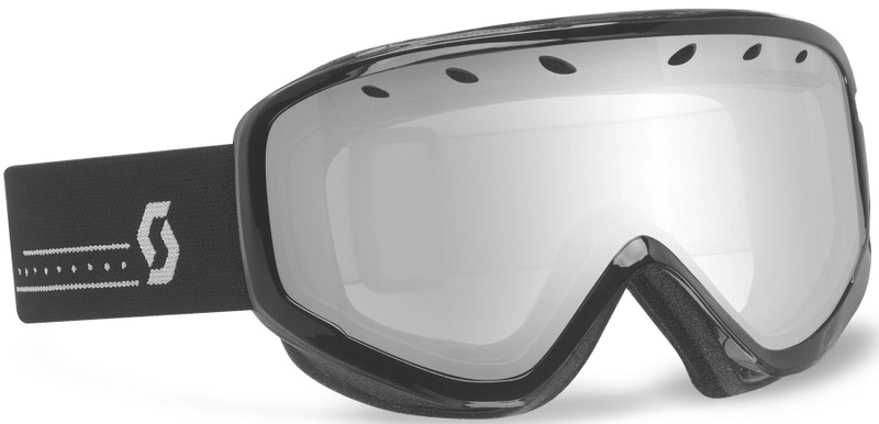 Scott Goggle Mia black/silver chrome
