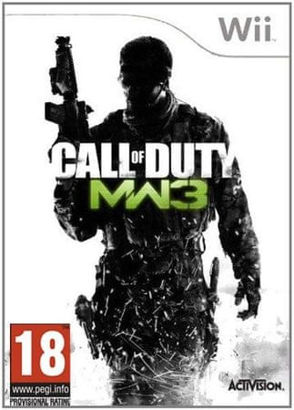 Activision CALL OF DUTY: MODERN WARFARE 3 WII