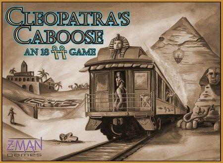 Z-Man Games Cleopatra's Caboose Társasjáték