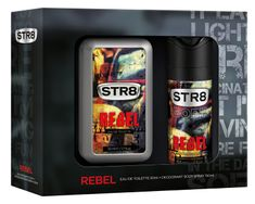 STR8 Rebel sada EDT 50ml + DEO 150ml
