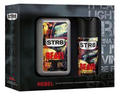 STR8 Rebel sada EDT 50ml + DEO 150ml