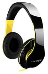 Fantec slušalke stereo SHP-250AJ, črno/rumene