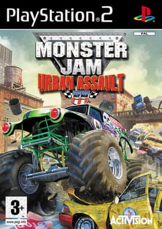 Activision Monster Jam: Urban Assault (PS2)