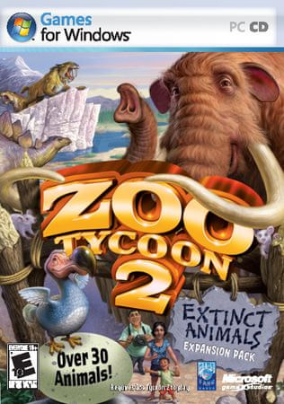 Microsoft Zoo Tycoon 2: Extinct Animals (PC)