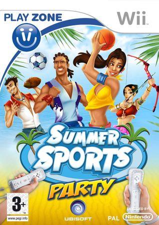 Ubisoft Summer sports party (WII)