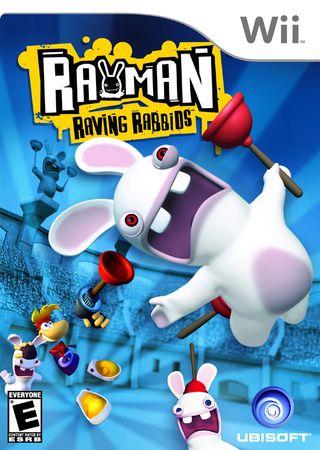 Nintendo Rayman Raving Rabbids (WII)