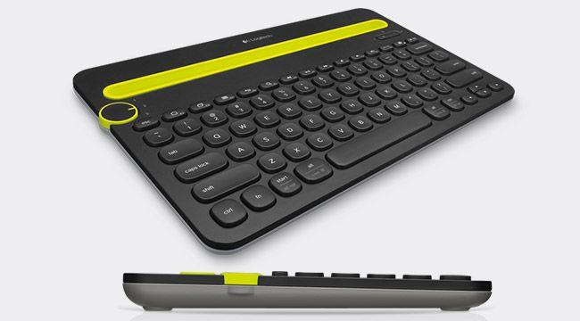 Logitech Bluetooth Multi-Device Keyboard K480 US, černá (920-006366)