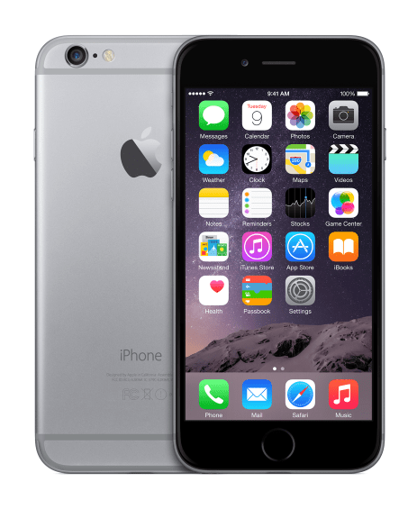 Apple iPhone 6, 32 GB, vesmírně šedý