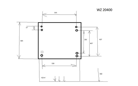 Siemens łącznik WZ20400