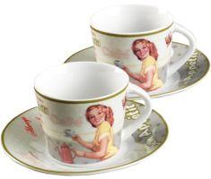 Ritzenhoff&Brecker Zestaw filiżanek SWEET RETRO cappuccino, 2 szt.