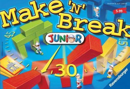 Ravensburger Make 'n' break Junior Társasjáték - Magyar nyelvű