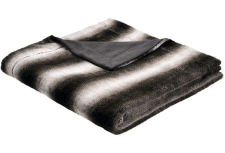Biederlack odeja Taiga, 150 x 200 cm, črna