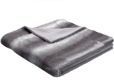 Biederlack odeja Taiga, 150 x 200 cm, siva