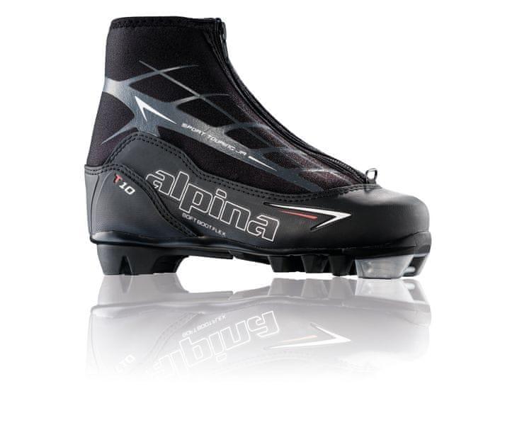 Alpina T 10 JR Black/White/Red 36
