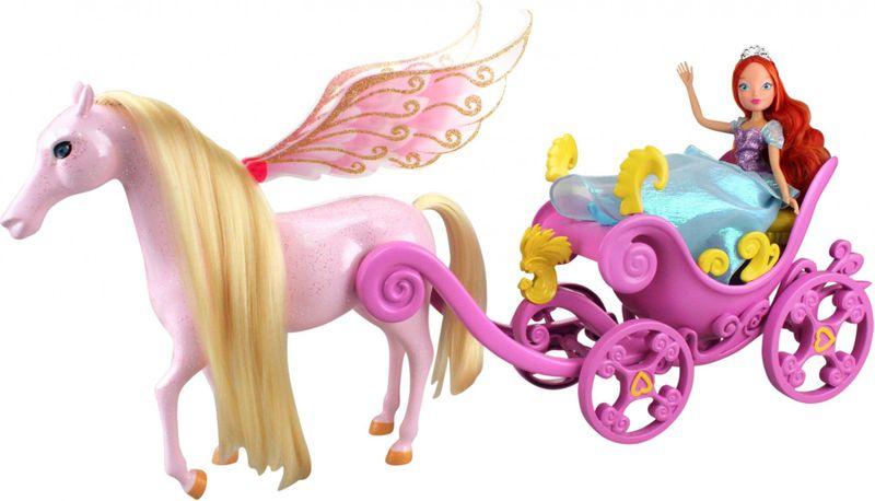 Winx Kočár s koněm a princezna Bloom - II. jakost