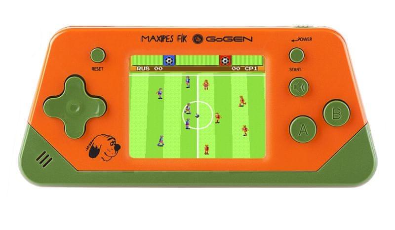 GoGEN Herní konzole 2,5´´ LCD displej - 80 her oranžová