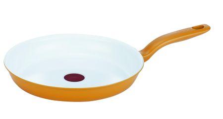 Tefal ponev Ceramic Colors, 28 cm, rumena
