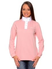 Brakeburn női galléros póló rózsaszín