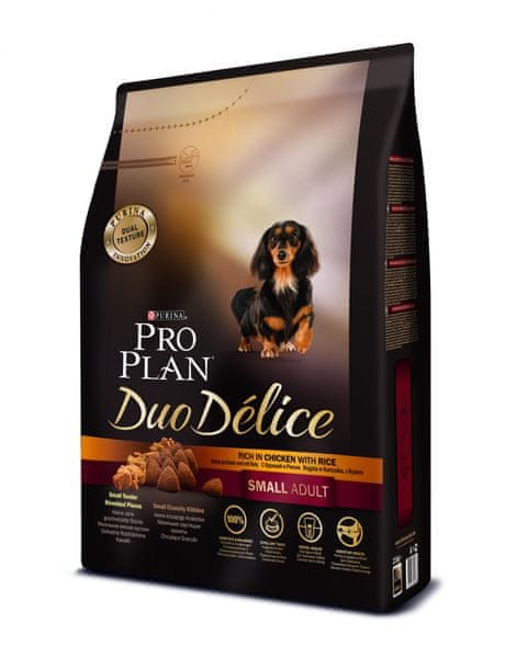 Purina Pro Plan DUO DELICE Small & Mini ADULT kuře 2,5 kg
