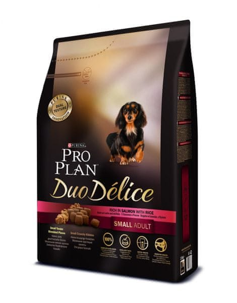 Purina Pro Plan DUO DELICE Small & Mini ADULT losos 2,5 kg