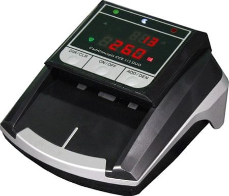 CashConcepts aparat za preverjanje bankovcev CCE 112 DUO