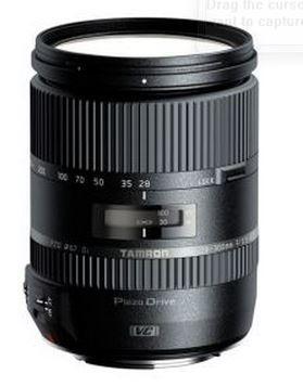 Tamron objektiv 28-300 VC PZD (Canon)