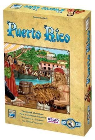 Alea Puerto Rico Társasjáték - Magyar nyelvű
