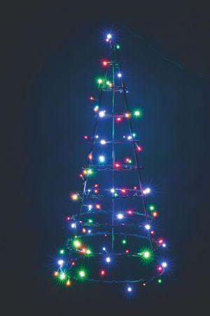 Emos Vánoční 120 LED řetěz 12 m barevný