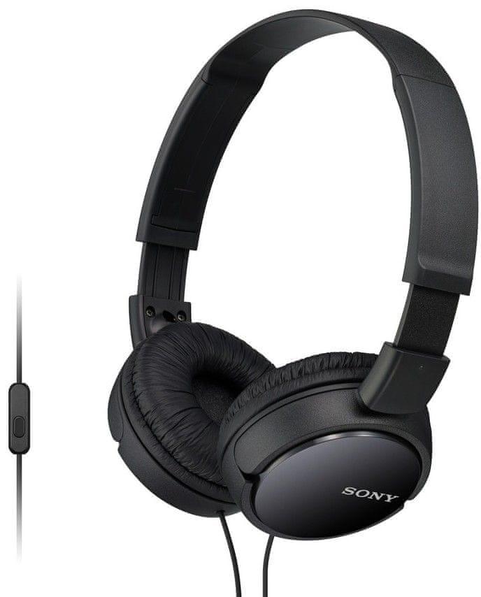 Sony MDR-ZX110APB sluchátka s mikrofonem (Black)