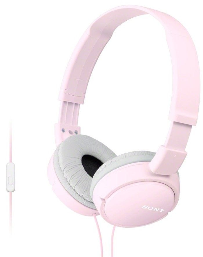 Sony MDR-ZX110APP sluchátka s mikrofonem (Pink)