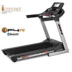 BH Fitness F4W DUAL (3,75 LE-140cm/55cm-20 km/h) Futópad