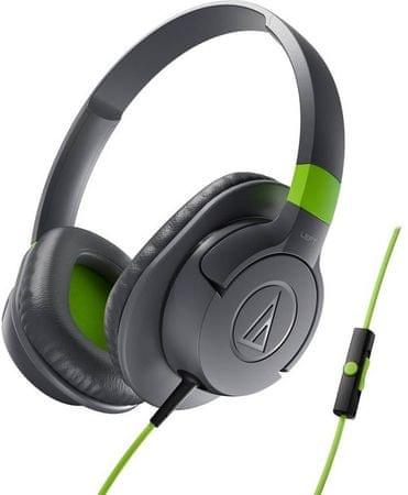 Audio-Technica ATH-AX1iS Fejhallgató, Szürke