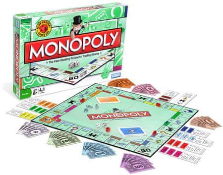 HASBRO Monopoly standard Társasjáték - Magyar nyelvű