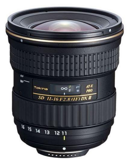 Tokina objektiv 11-16/2,8 II DX (Canon)