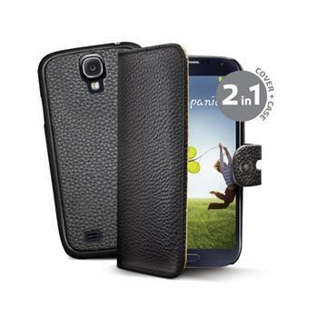 Celly Pouzdro Ambo, Samsung Galaxy S4, černé - II. jakost