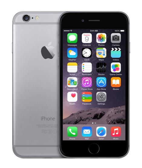 Apple iPhone 6, 64 GB, EU, vesmírně šedý - II. jakost